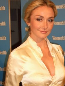 Alexandra at Women's Health Blue Party