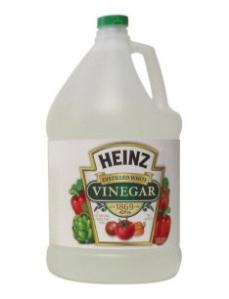 ...or vinegar?