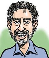 Cartoonist Steve Greenberg