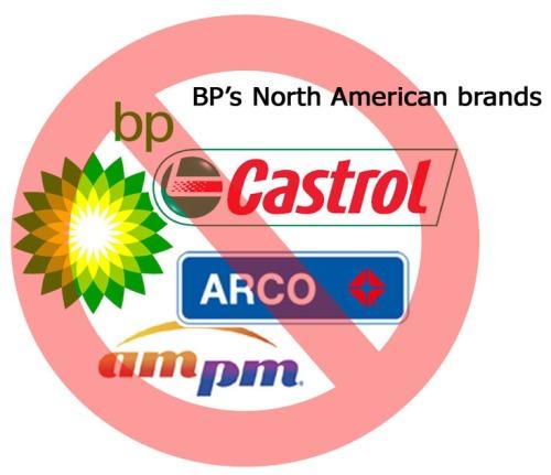 BP's North American brands
