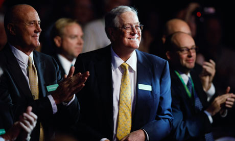 David Koch, of Koch Industries.*