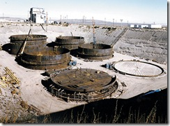 "Nuclear ""storage"" at Hanford, WA. Photo Planetsave.com."
